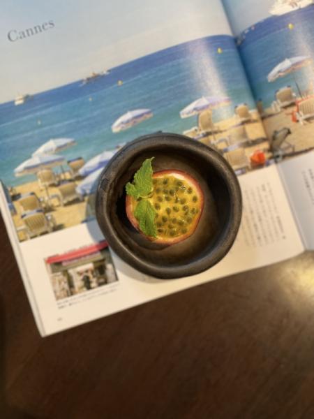 沖永良部島パッションフルーツのチーズケーキ