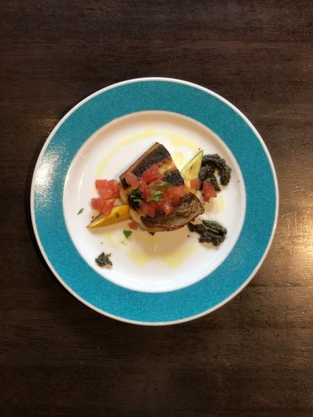 夏のおまかせディナーコース│魚料理